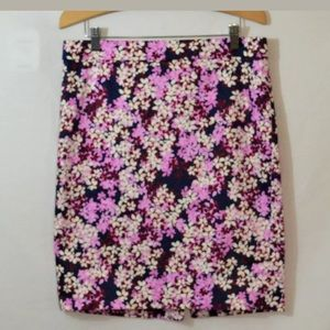 J.Crew Multicolored The Pencil Skirt Size 6